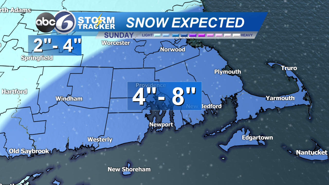 Tracking Snow For Sunday | ABC6