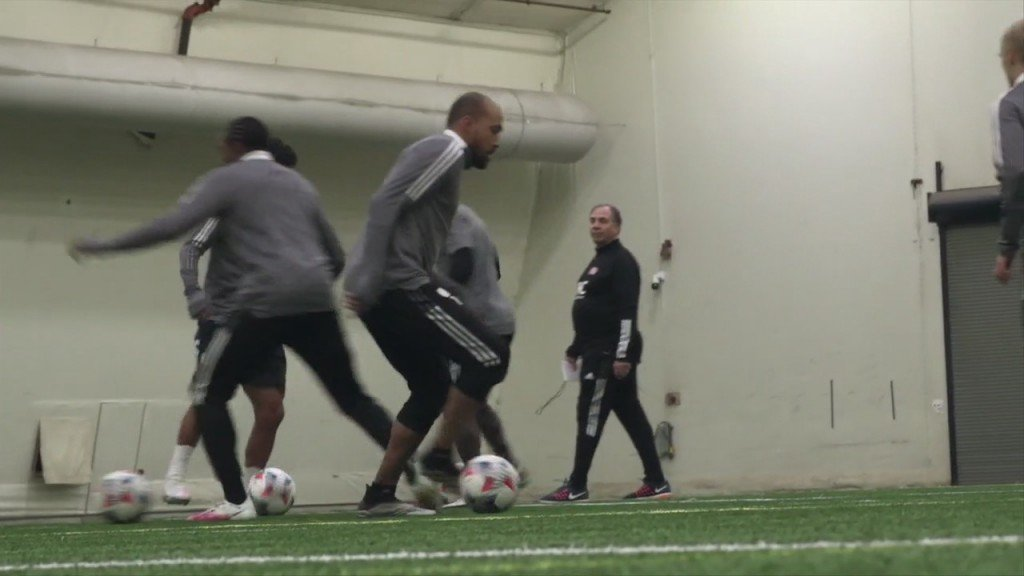 Revolution Holds First Official Preseason Training Session Monday
