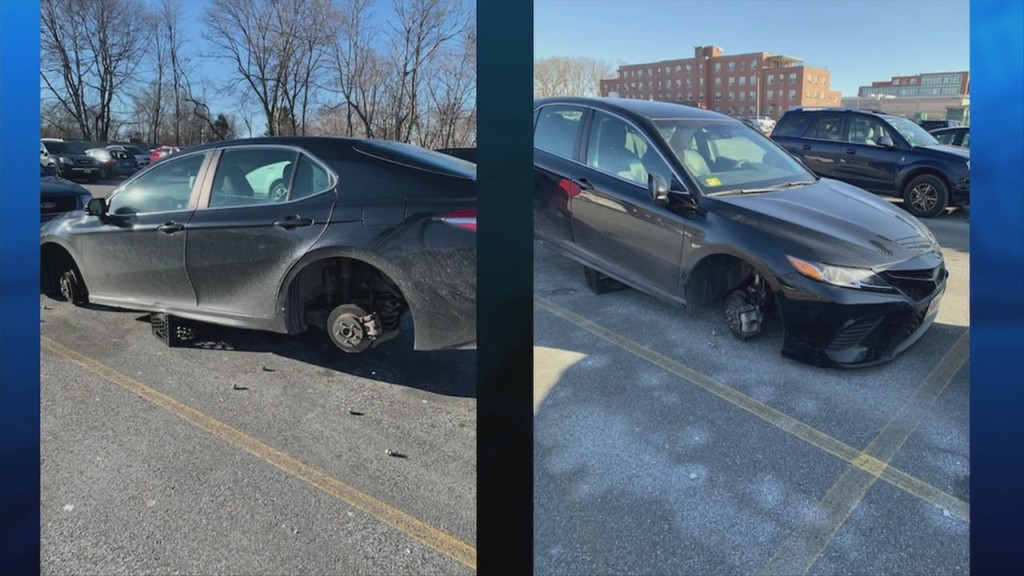 Stranger Foots Bill For Nurse With Stolen Tires
