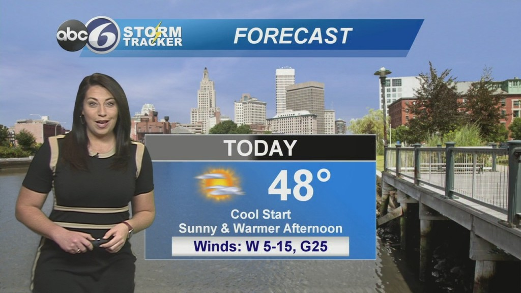 Warmer With Sunshine Today
