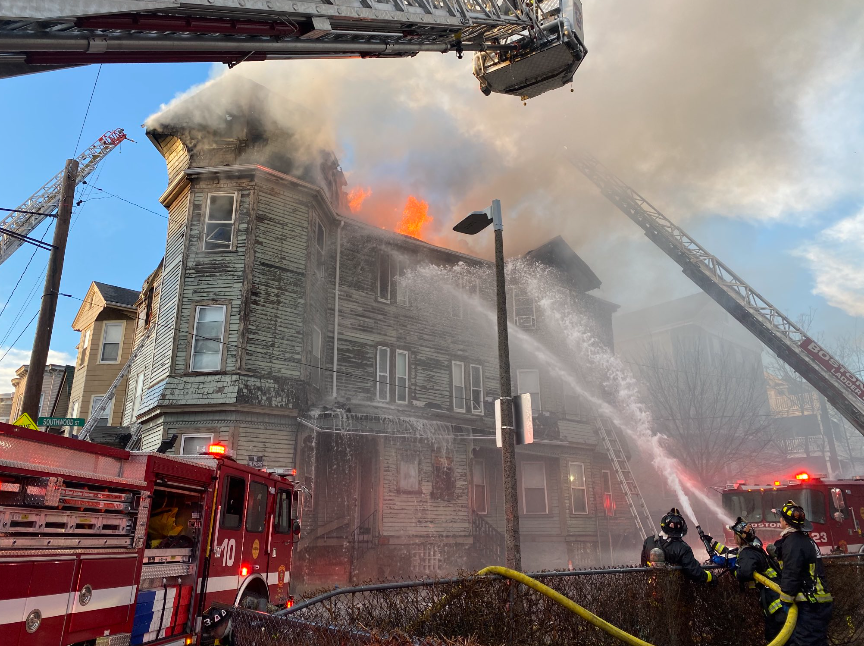Dorchester Fire March 1