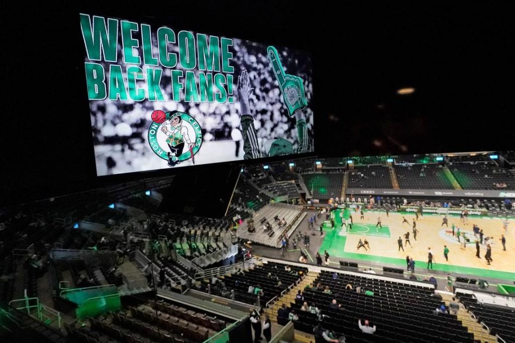 Td Garden Celtics Fans