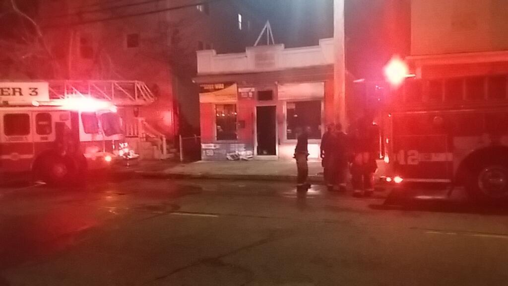 Douglas Ave Fire