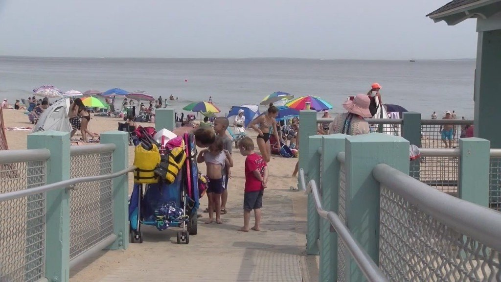 Beach 100 Percent Capacity