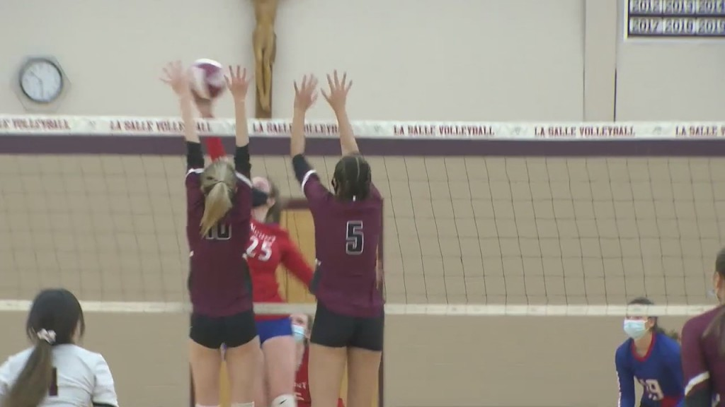 La Salle Sweeps Mount St. Charles To Advance To Division I Semifinals