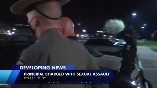 Ny Principal Arrested