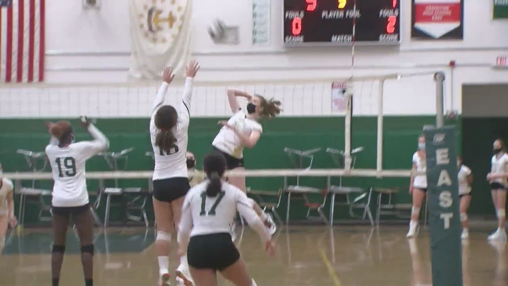 North Kingstown Sweeps Cranston East, Earns Top Seed In Division I Girls Volleyball Playoffs