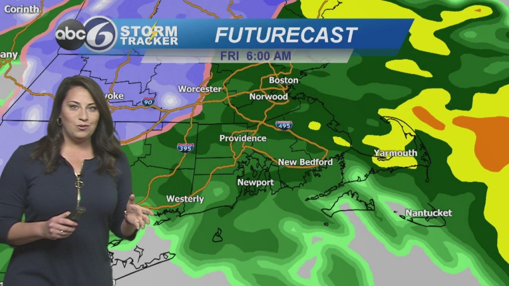 Heavy Rain And Breezy Conditions Late Today & Overnight