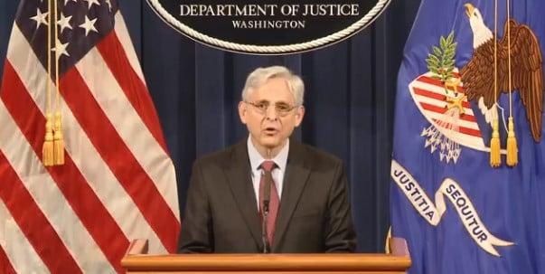 Attorney General Merrick B. Garland