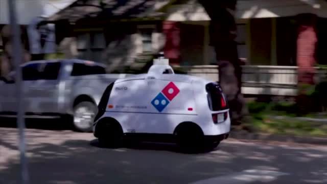 Domino's Self Driving Deliveries