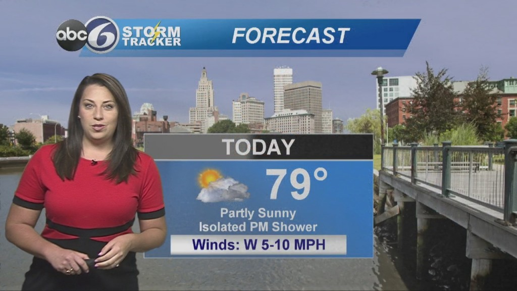 Warm Today With A Few Showers Possible