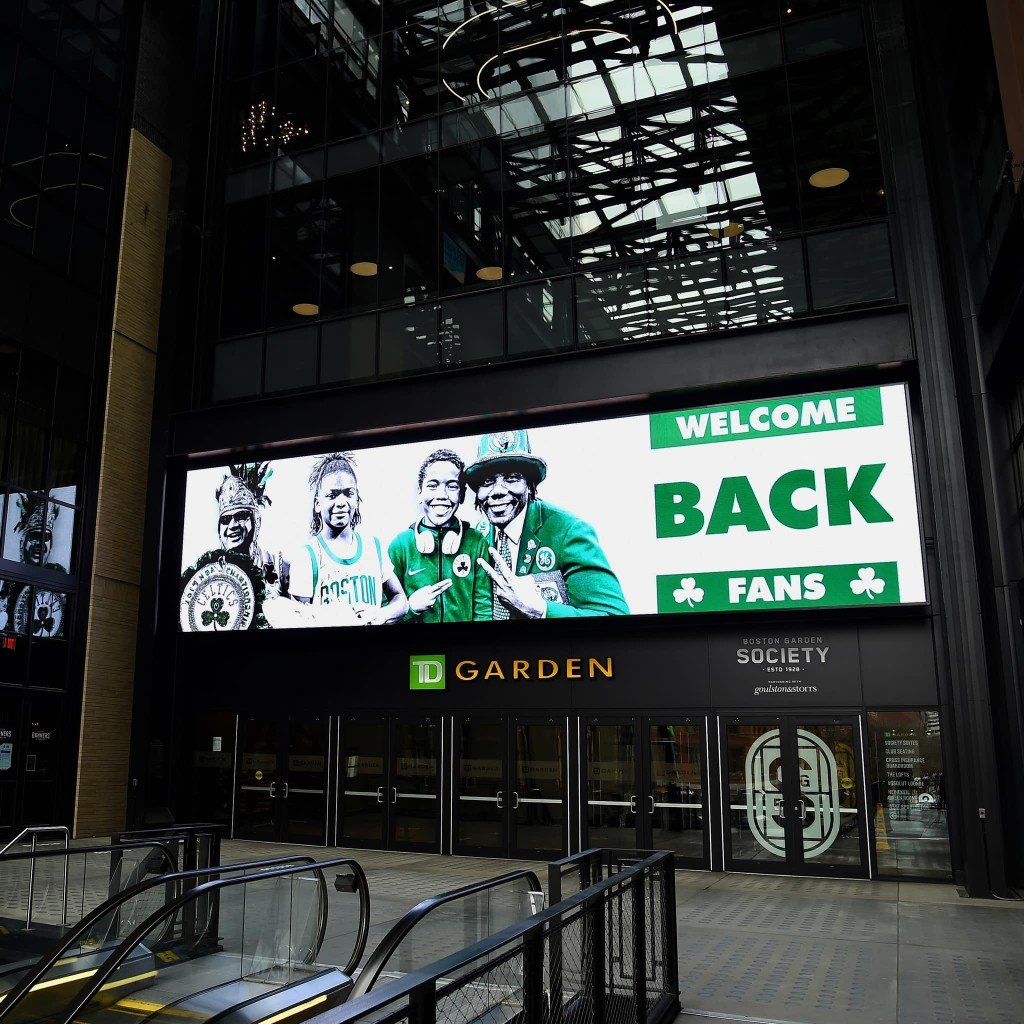 Td Garden Fans Return