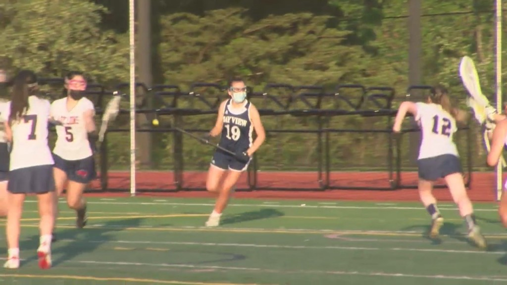 Bay View Girls Lacrosse Runs Past Lincoln