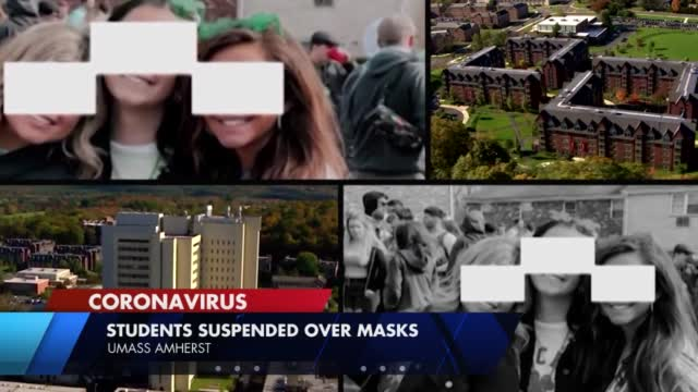 Umass Students Suspended For Not Wearing Masks