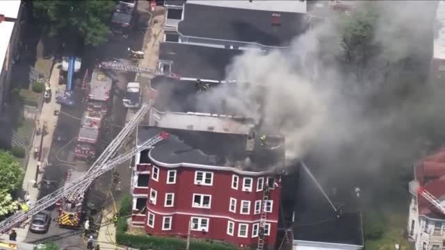 Dorchester Massive Fire
