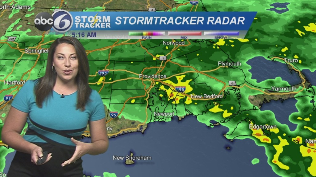 Rain This Morning, More Rain Wednesday