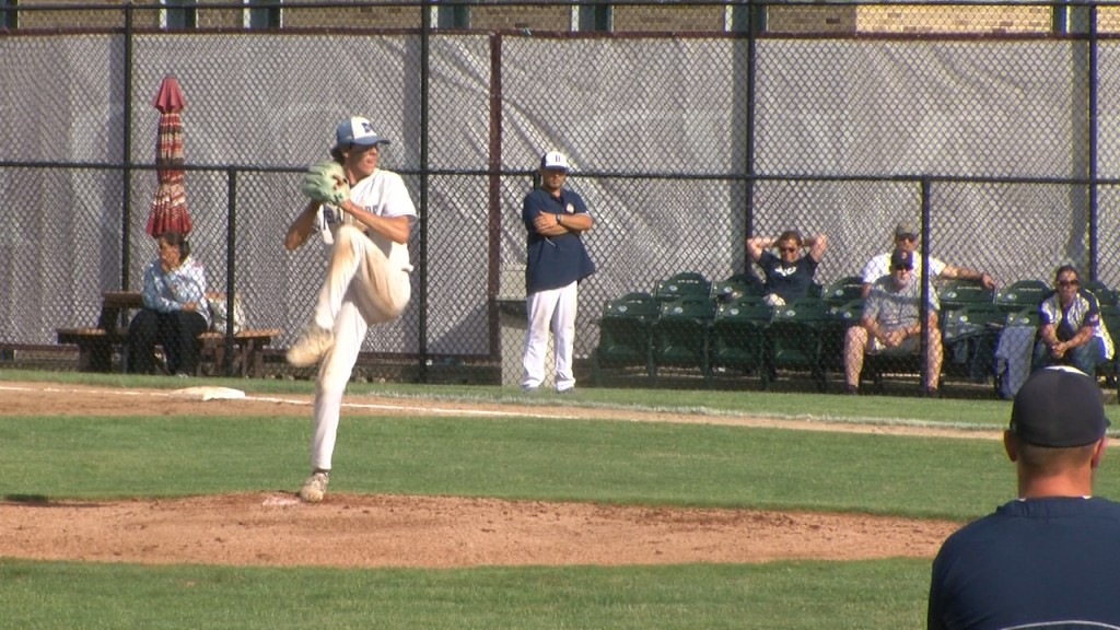 Andrade Pitches Middletown Past Burrillville In Game 1 Of D Ii Title Series