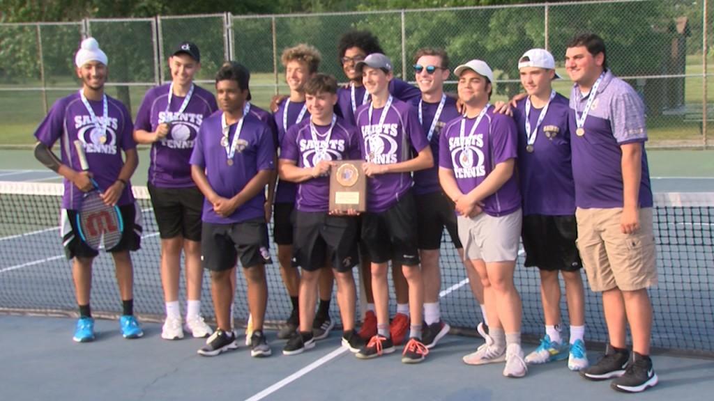 St. Raphael Boys Tennis Wins Post