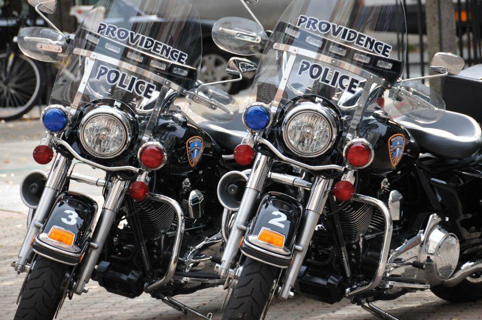 Providence Police Bikes