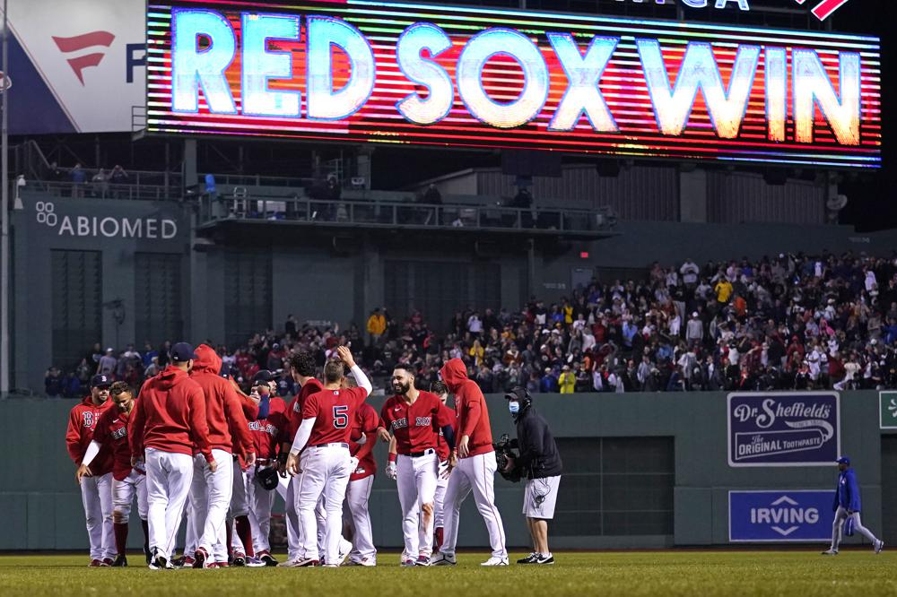 Red Sox 6 14