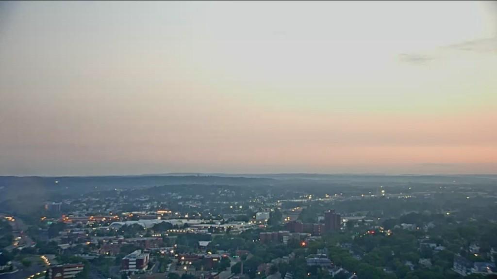 Thursday: Morning Coastal Fog, Some Sun, Warm & Humid.