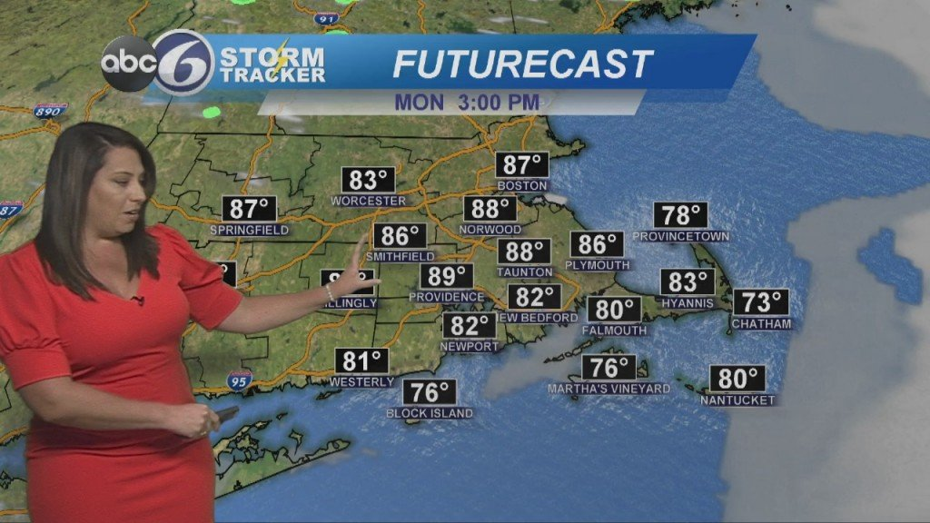 Hazy, Hot & Humid To Start The Work Week