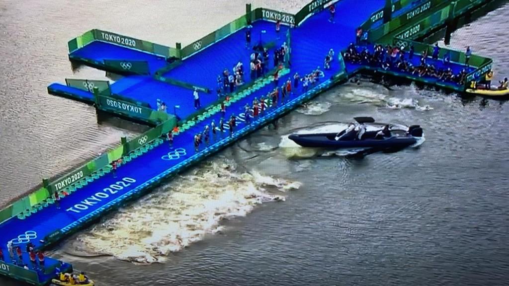 Olympic Triathalon Boat