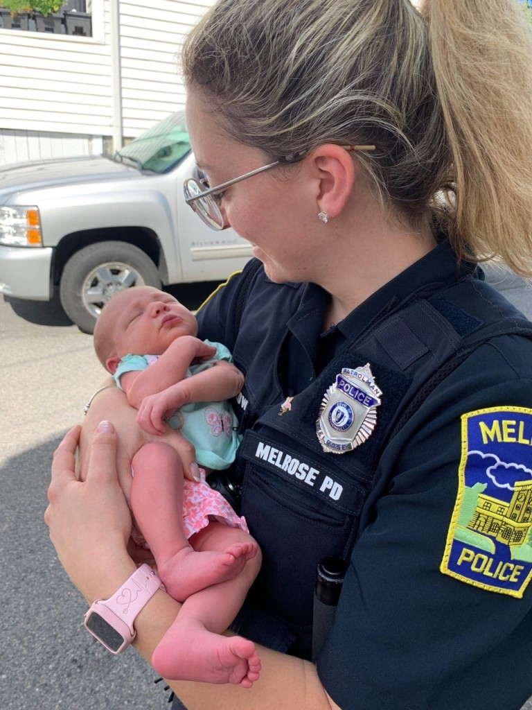 Officer Helps Deliver Baby