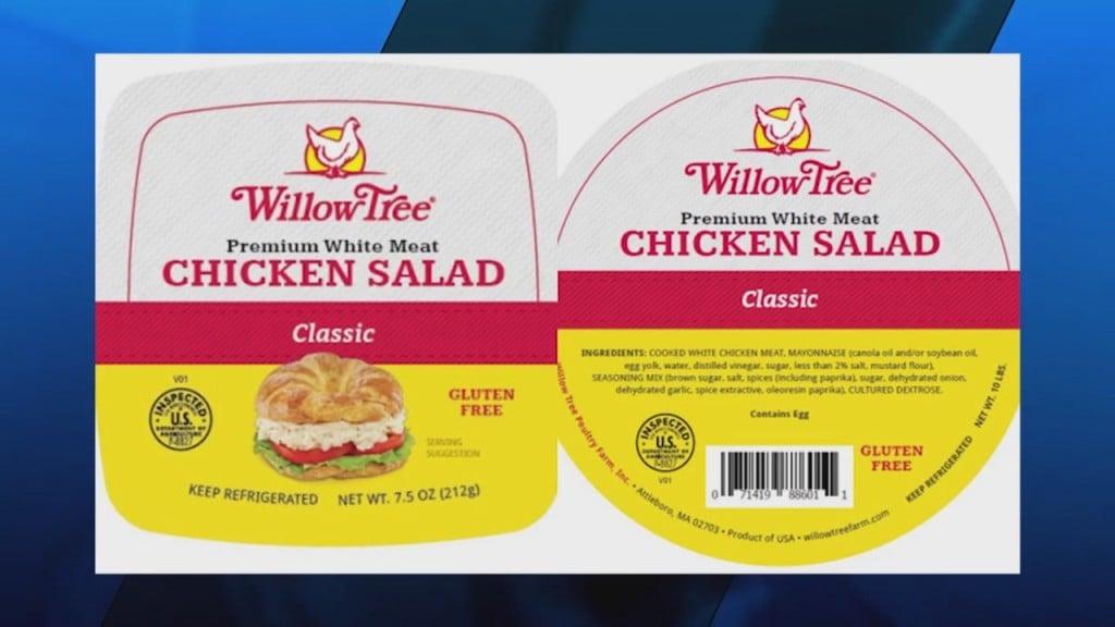 Willow Tree Chicken Salad Recall