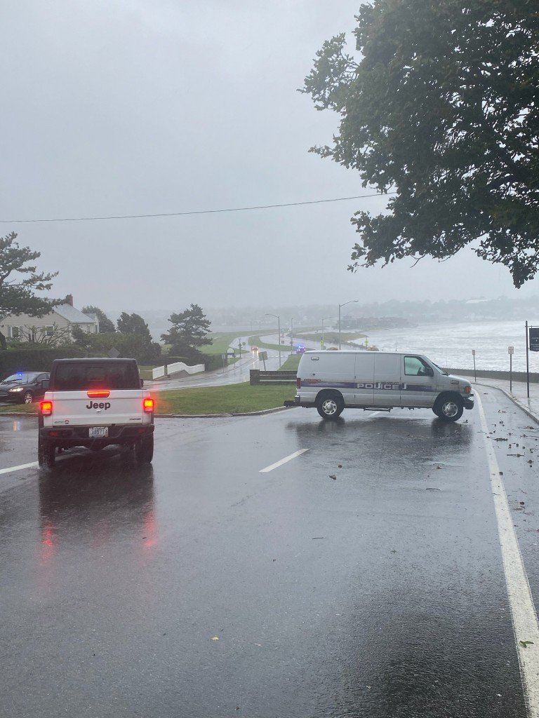 Newport road closed