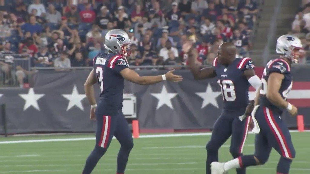 Patriots Cutdown Day Recap: Nordin Earns Kicker Spot, Hoyer Likely To Return, Rundown Of Releases Tuesday