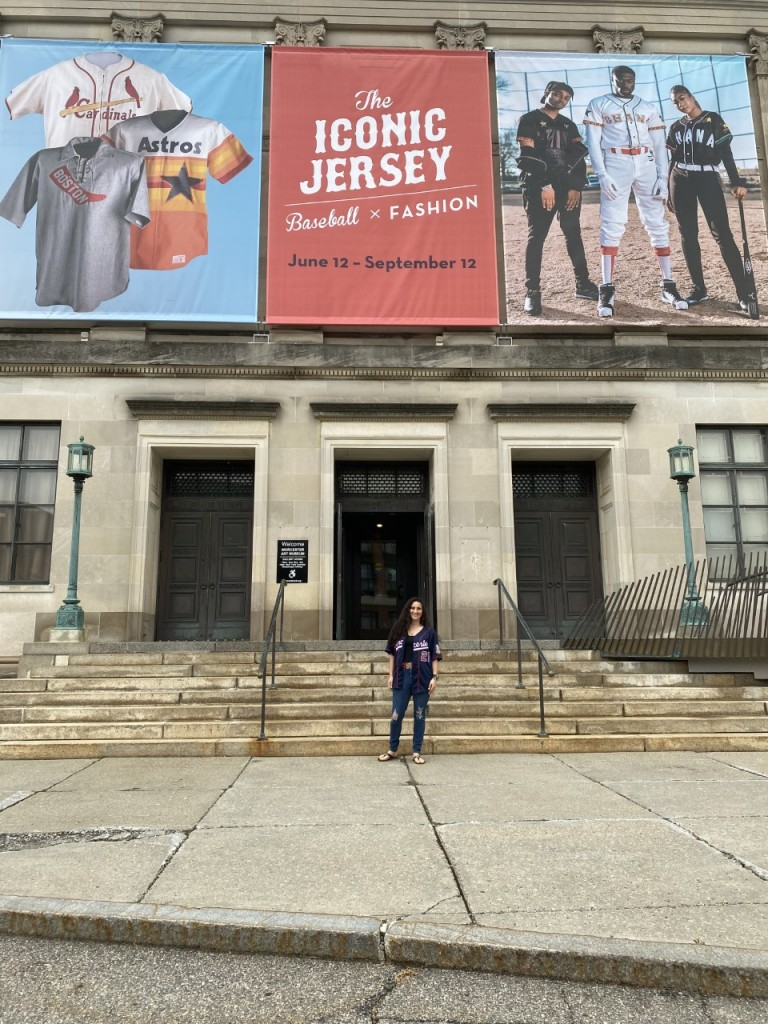 Amy In Front Of Museum