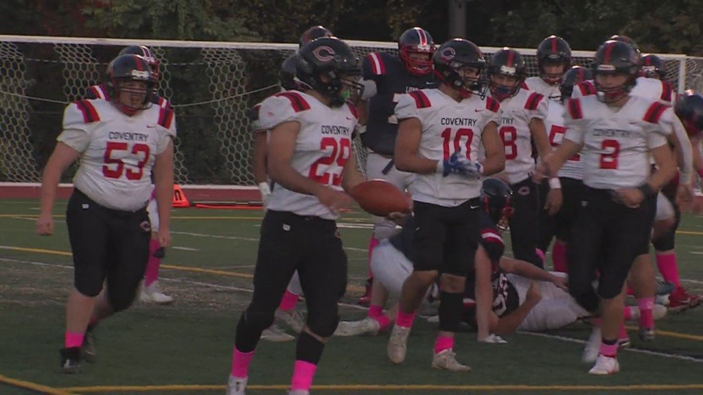 Jaden Carnevale Leads Coventry On Ground