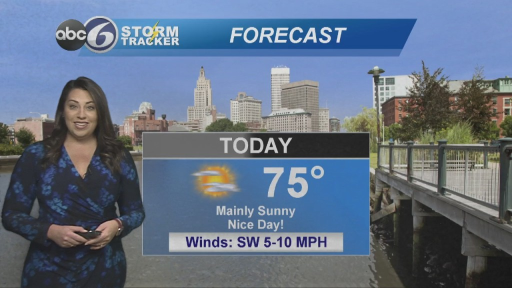 Another Sunny And Mild Day Ahead Of Us