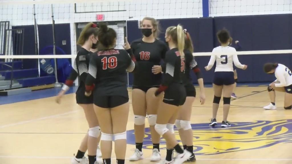 Narragansett Girls Volleyball Sweeps Blackstone Valley Prep Wednesday