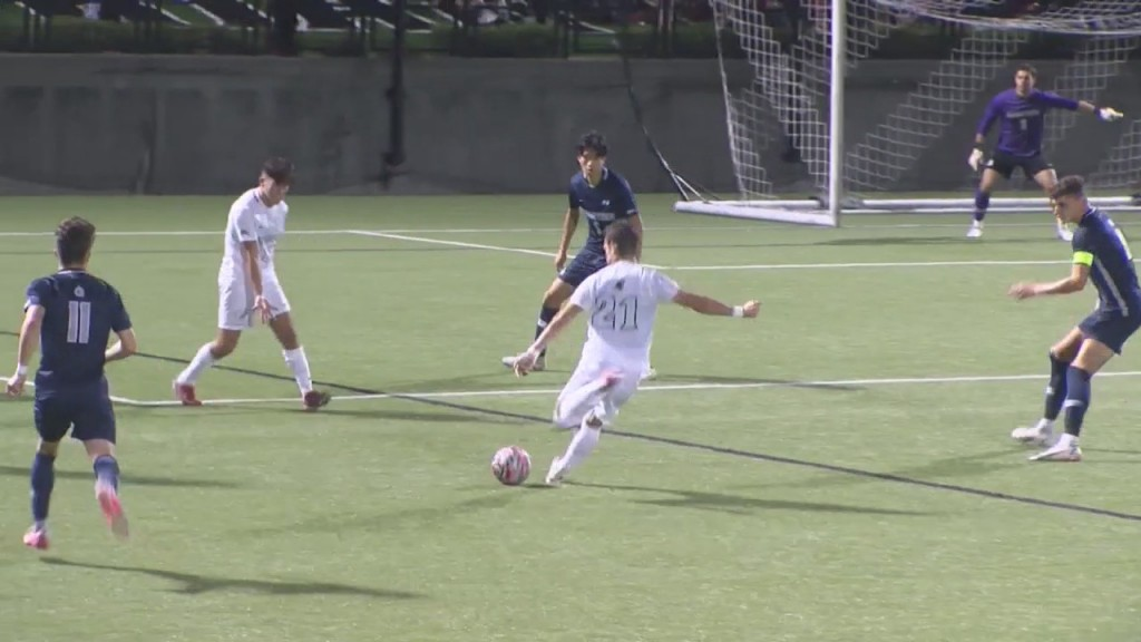 #20 Pc Men's Soccer Upsets #1 Georgetown Wednesday