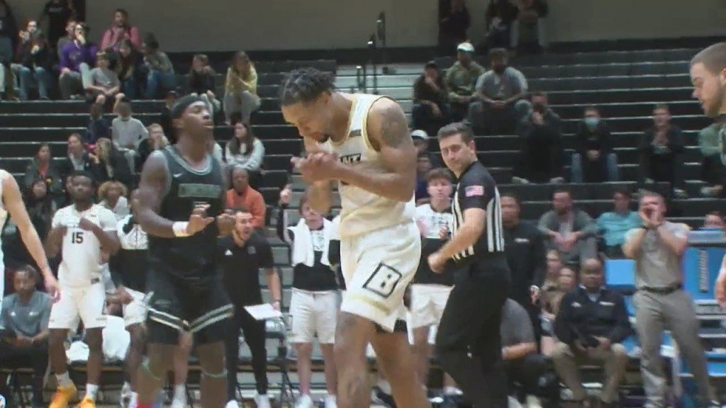 Bryant Men's Basketball Takes 107 71 Exhibition Win Over Nichols