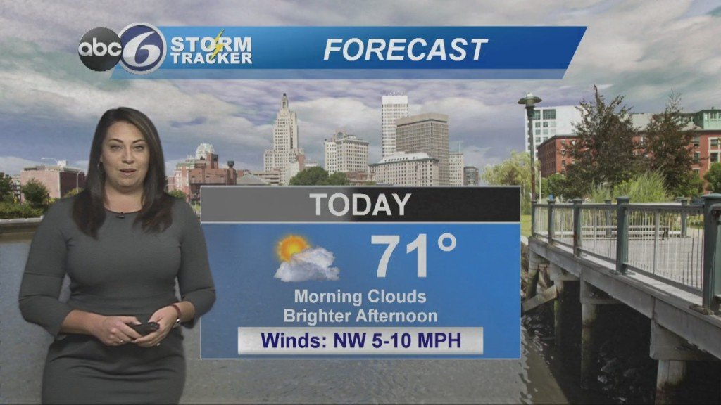 Clouds This Morning, Brighter Later Today