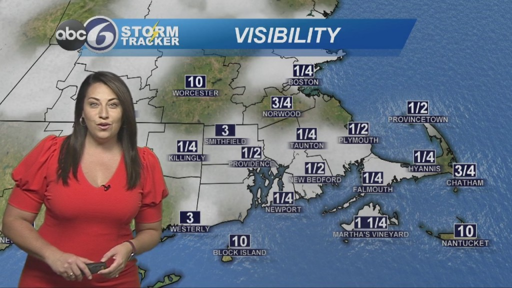 Dense Fog This Morning, Brighter This Afternoon