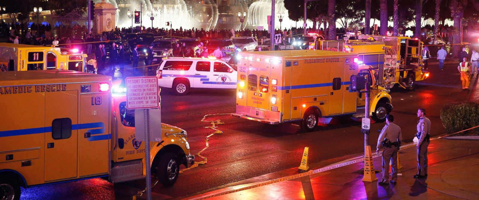 Old driver in deadly las vegas strip crash in custody abc columbia