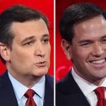 Trump Cruz Rubio and Paul