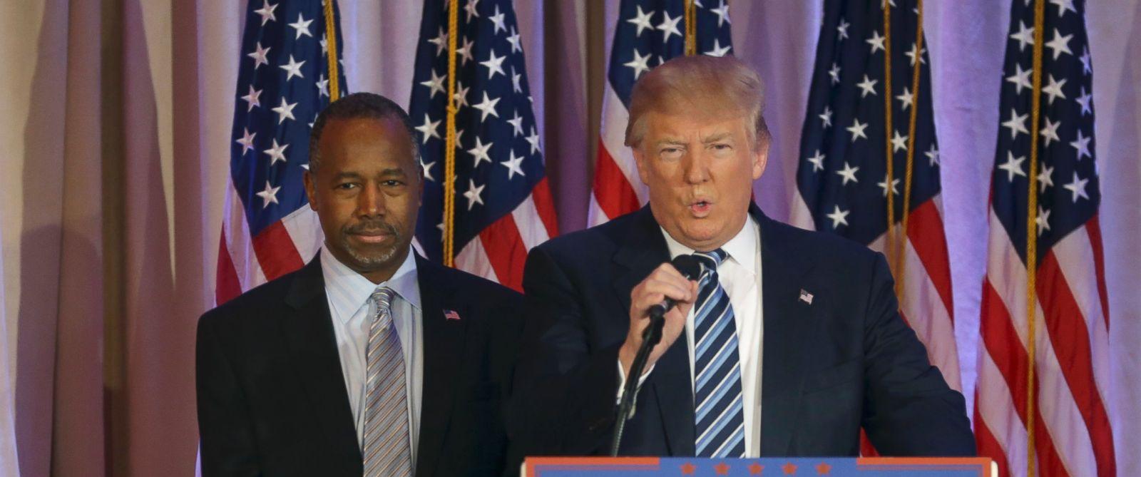 Trump Announces Ben Carson as HUD Pick - ABC Columbia
