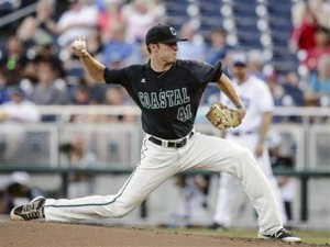 Andrew Beckwith 2016 College World Series