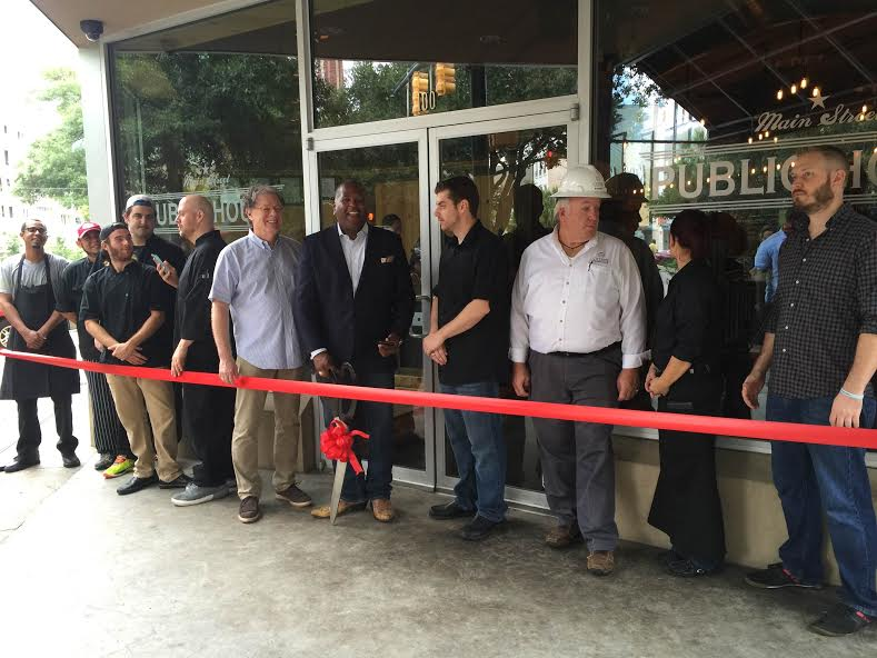 Opening of the Public House on Main