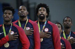Team USA Basketball Gold