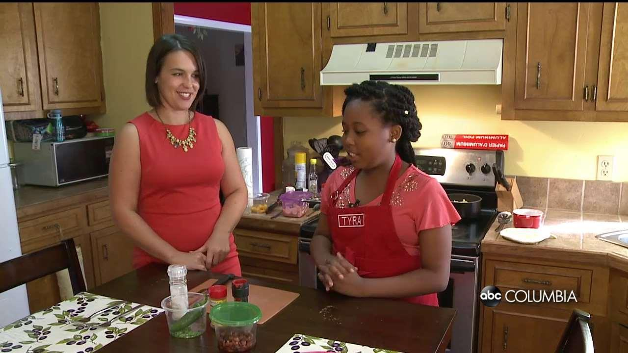 watch in the kitchen with local girl on food network show abc