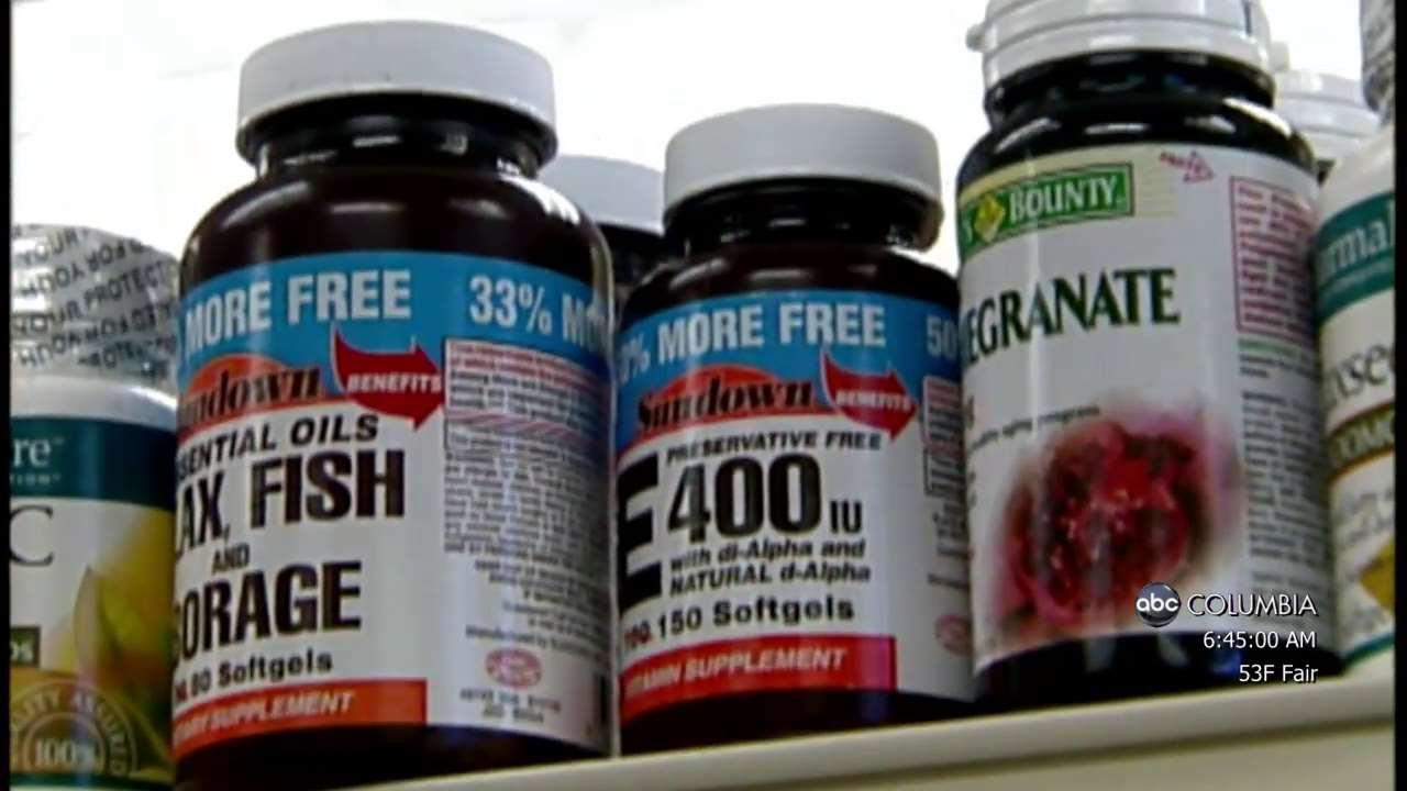 Supplements warning: Certain types could increase chances ...