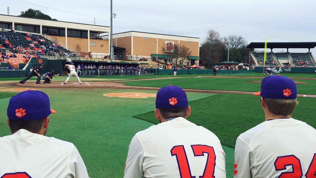 Front Row Clemson Baseball Stays Put Rankings Abc Columbia