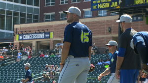 another chance 775a6 e380f Tim Tebow gets pro start with Columbia Fireflies Thursday ...