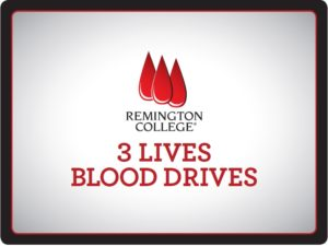 Remington College Columbia Campus holds 3 Lives Blood Drive @ Remington College – Columbia Campus | Columbia | South Carolina | United States